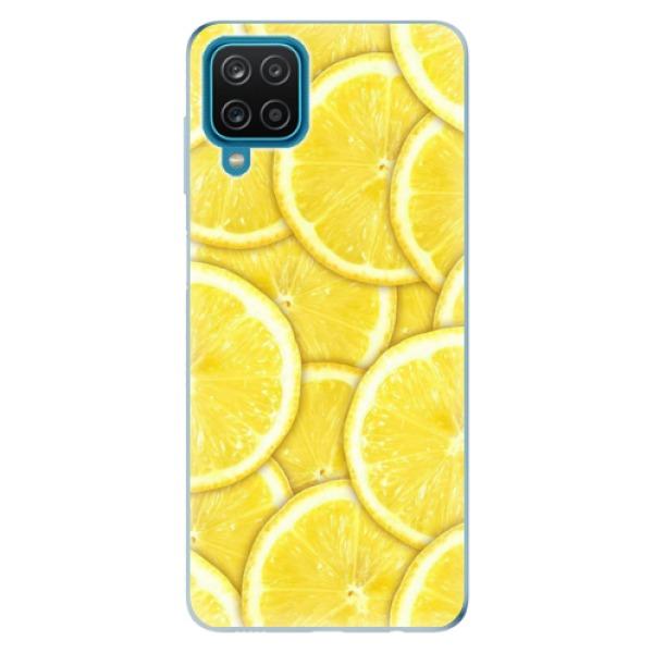 Odolné silikonové pouzdro iSaprio - Yellow - Samsung Galaxy A12
