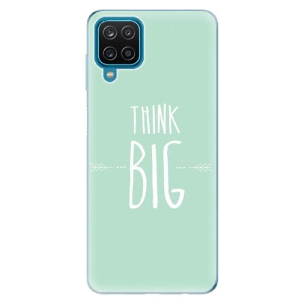 Odolné silikonové pouzdro iSaprio - Think Big - Samsung Galaxy A12
