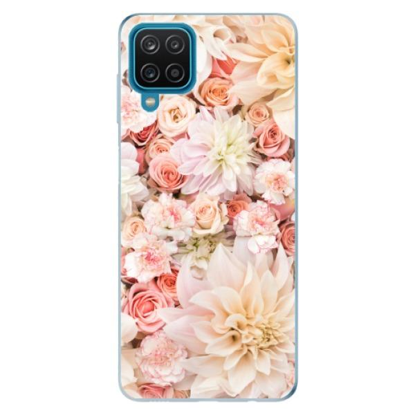 Odolné silikonové pouzdro iSaprio - Flower Pattern 06 - Samsung Galaxy A12