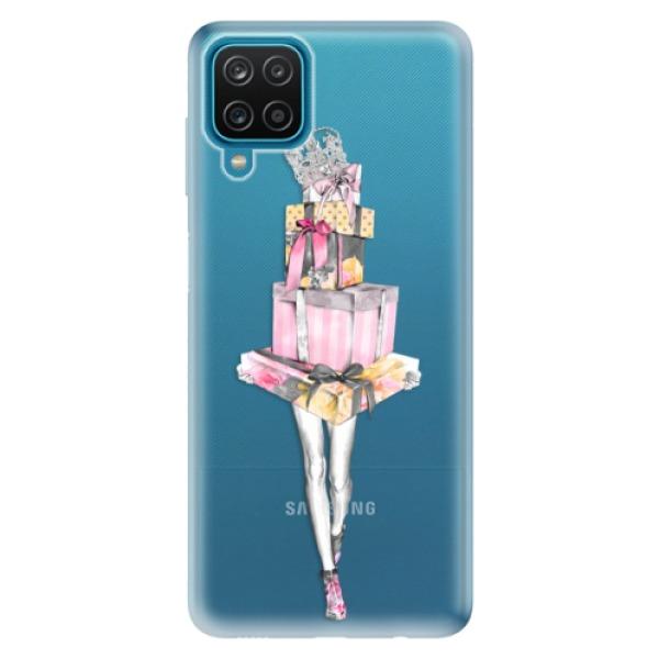 Odolné silikonové pouzdro iSaprio - Queen of Shopping - Samsung Galaxy A12