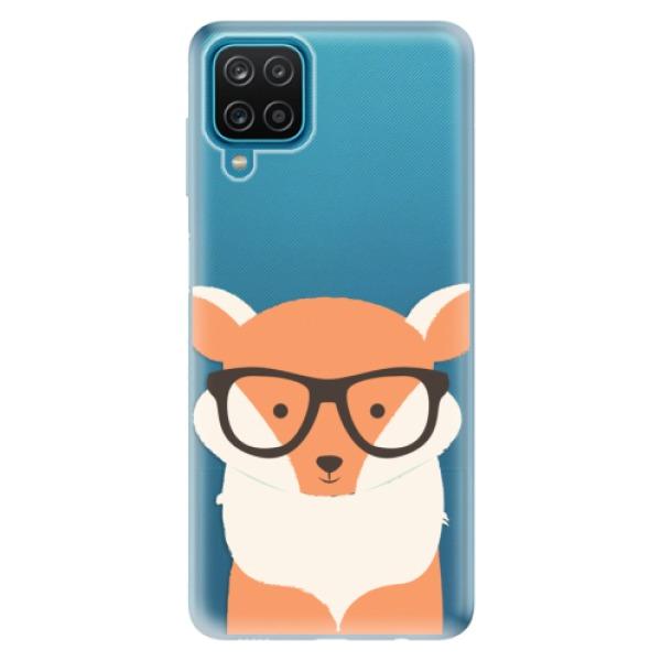 Odolné silikonové pouzdro iSaprio - Orange Fox - Samsung Galaxy A12