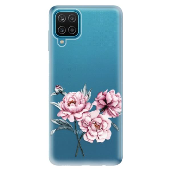 Odolné silikonové pouzdro iSaprio - Poeny - Samsung Galaxy A12