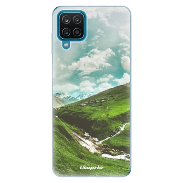 Odolné silikonové pouzdro iSaprio - Green Valley - Samsung Galaxy A12