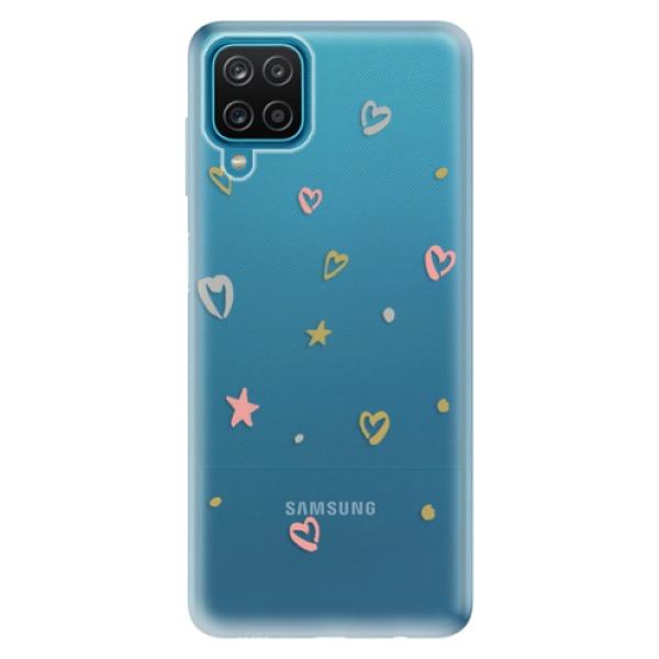 Odolné silikonové pouzdro iSaprio - Lovely Pattern - Samsung Galaxy A12