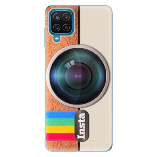 Odolné silikonové pouzdro iSaprio - Insta - Samsung Galaxy A12