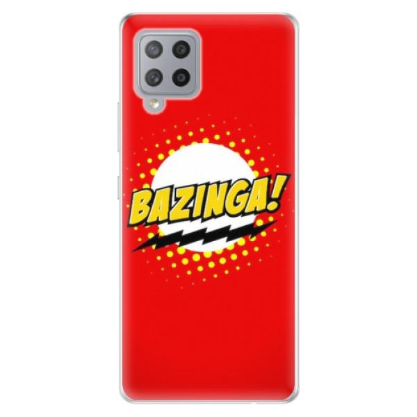 Odolné silikonové pouzdro iSaprio - Bazinga 01 - Samsung Galaxy A42