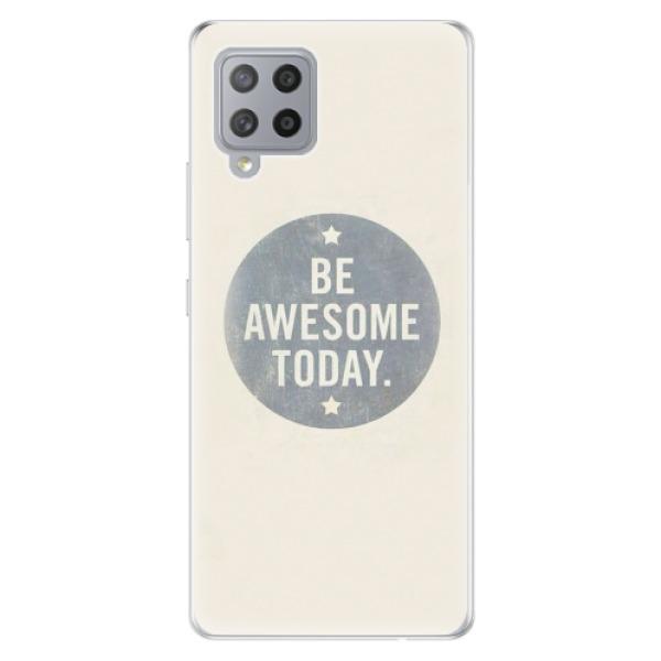 Odolné silikonové pouzdro iSaprio - Awesome 02 - Samsung Galaxy A42