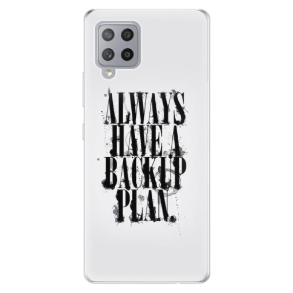 Odolné silikonové pouzdro iSaprio - Backup Plan - Samsung Galaxy A42