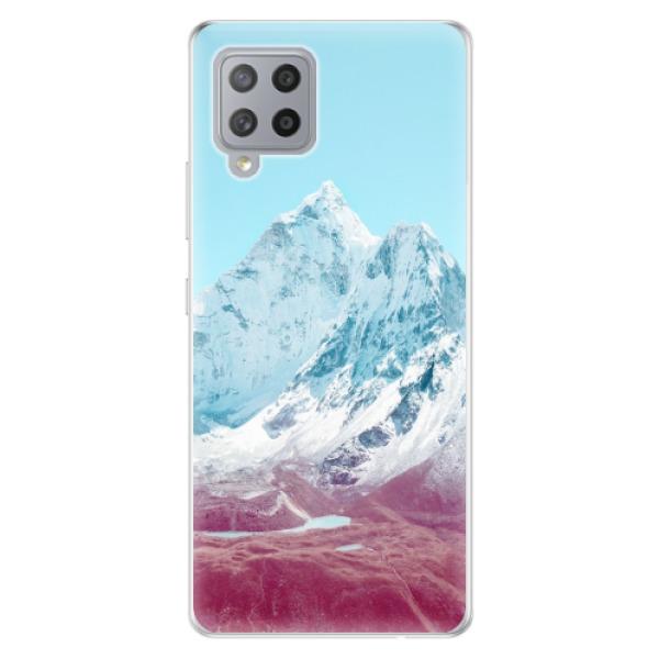 Odolné silikonové pouzdro iSaprio - Highest Mountains 01 - Samsung Galaxy A42