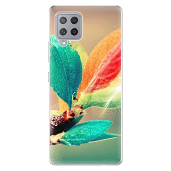 Odolné silikonové pouzdro iSaprio - Autumn 02 - Samsung Galaxy A42