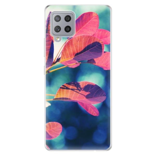 Odolné silikonové pouzdro iSaprio - Autumn 01 - Samsung Galaxy A42