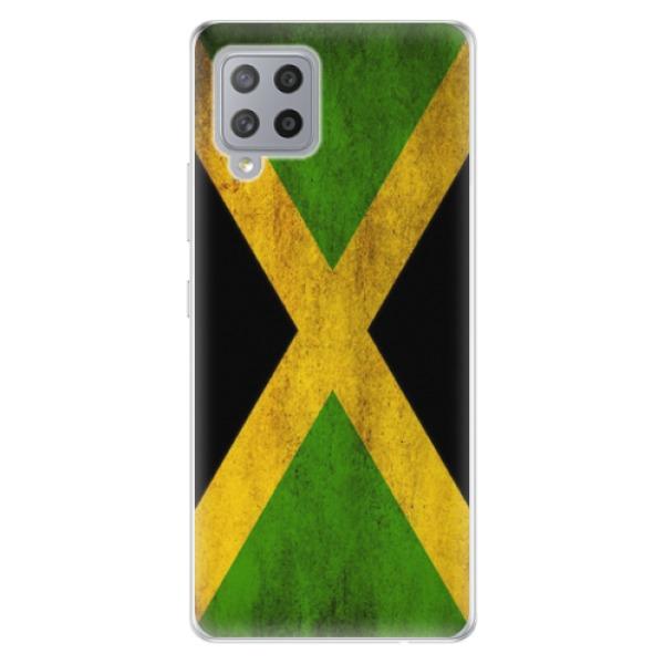 Odolné silikonové pouzdro iSaprio - Flag of Jamaica - Samsung Galaxy A42