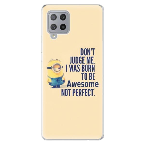 Odolné silikonové pouzdro iSaprio - Be Awesome - Samsung Galaxy A42