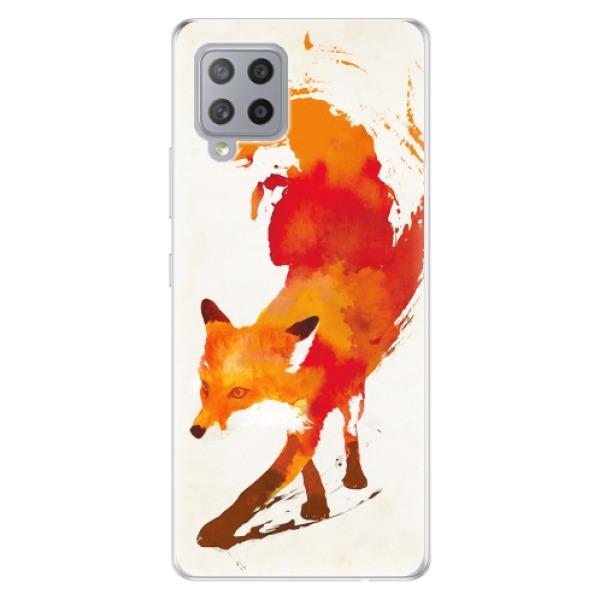 Odolné silikonové pouzdro iSaprio - Fast Fox - Samsung Galaxy A42
