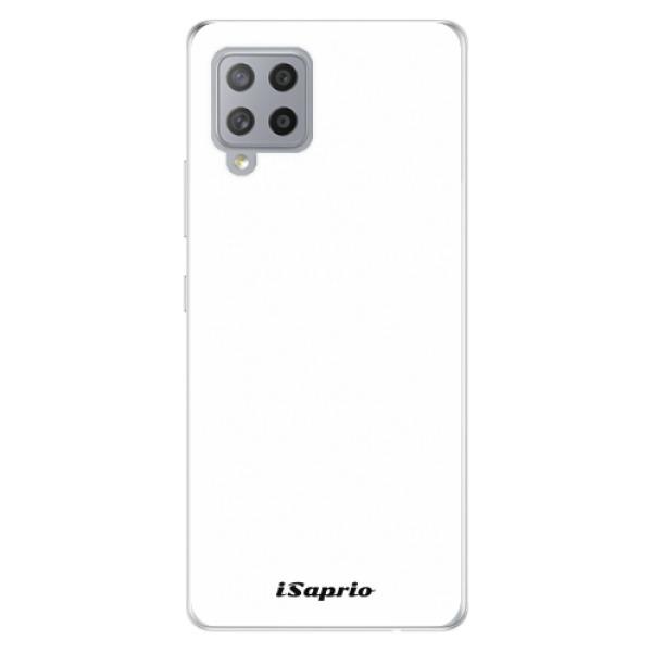 Odolné silikonové pouzdro iSaprio - 4Pure - bílý - Samsung Galaxy A42