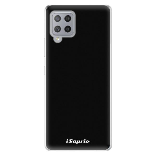 Odolné silikonové pouzdro iSaprio - 4Pure - černý - Samsung Galaxy A42