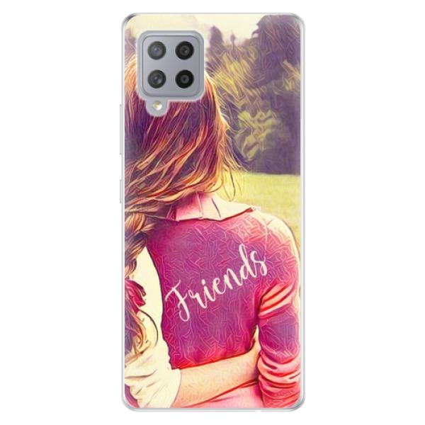 Odolné silikonové pouzdro iSaprio - BF Friends - Samsung Galaxy A42