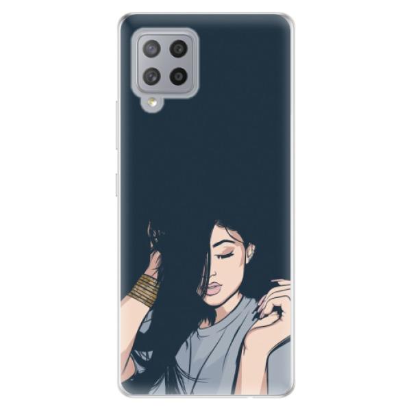 Odolné silikonové pouzdro iSaprio - Swag Girl - Samsung Galaxy A42