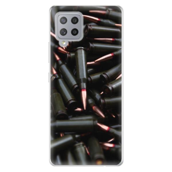 Odolné silikonové pouzdro iSaprio - Black Bullet - Samsung Galaxy A42