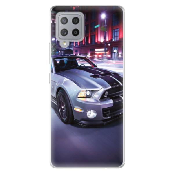 Odolné silikonové pouzdro iSaprio - Mustang - Samsung Galaxy A42