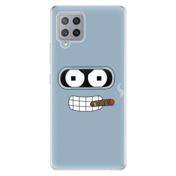 Odolné silikonové pouzdro iSaprio - Bender - Samsung Galaxy A42