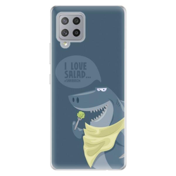 Odolné silikonové pouzdro iSaprio - Love Salad - Samsung Galaxy A42