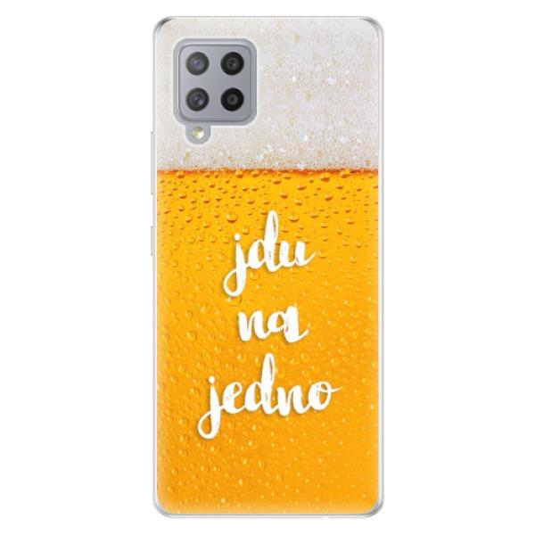 Odolné silikonové pouzdro iSaprio - Jdu na jedno - Samsung Galaxy A42