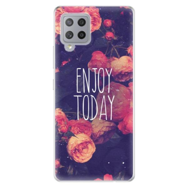 Odolné silikonové pouzdro iSaprio - Enjoy Today - Samsung Galaxy A42