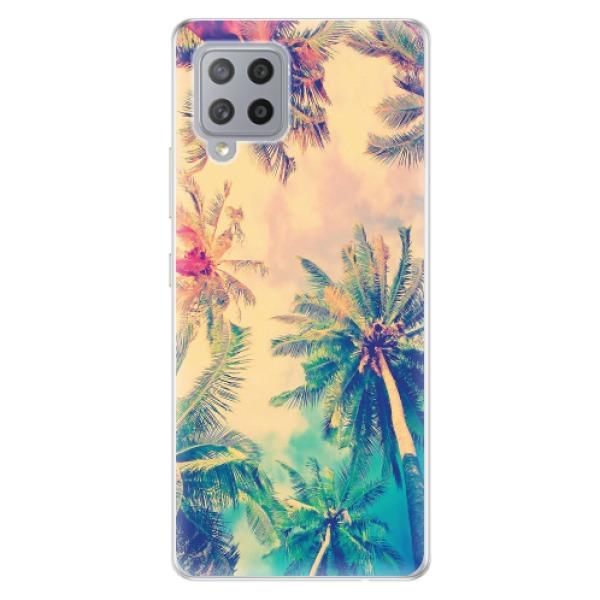 Odolné silikonové pouzdro iSaprio - Palm Beach - Samsung Galaxy A42