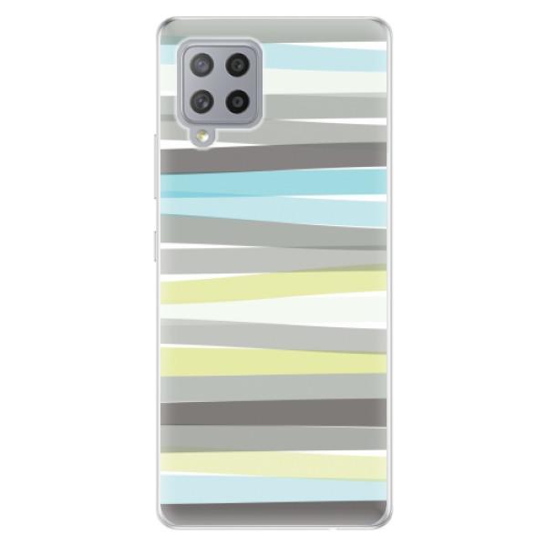 Odolné silikonové pouzdro iSaprio - Stripes - Samsung Galaxy A42