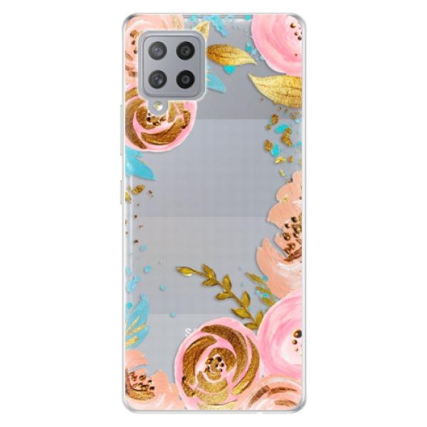 Odolné silikonové pouzdro iSaprio - Golden Youth - Samsung Galaxy A42