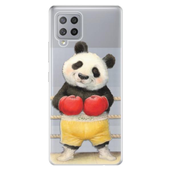 Odolné silikonové pouzdro iSaprio - Champ - Samsung Galaxy A42