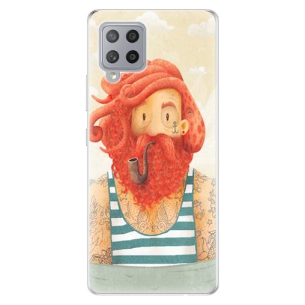 Odolné silikonové pouzdro iSaprio - Sailor - Samsung Galaxy A42