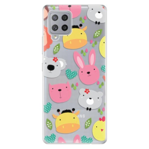 Odolné silikonové pouzdro iSaprio - Animals 01 - Samsung Galaxy A42