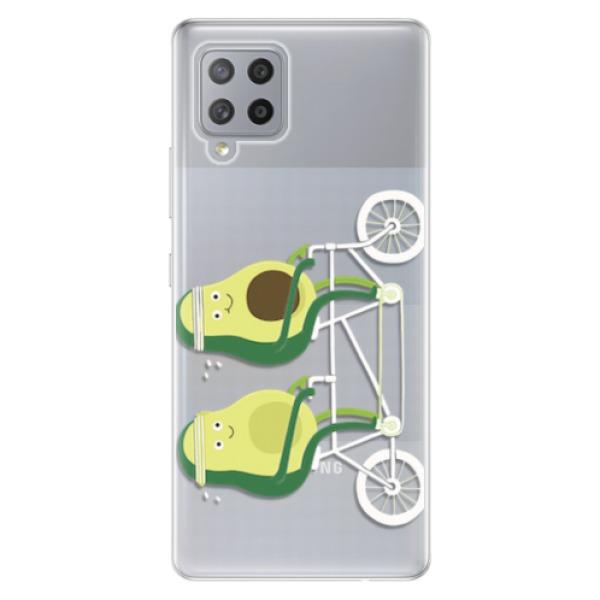 Odolné silikonové pouzdro iSaprio - Avocado - Samsung Galaxy A42
