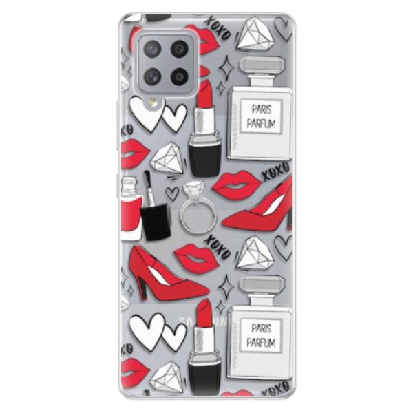 Odolné silikonové pouzdro iSaprio - Fashion pattern 03 - Samsung Galaxy A42