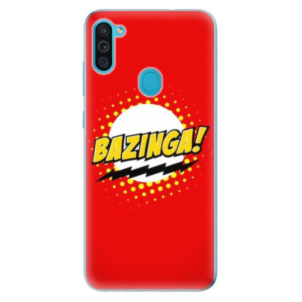 Odolné silikonové pouzdro iSaprio - Bazinga 01 - Samsung Galaxy M11
