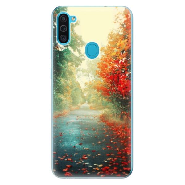 Odolné silikonové pouzdro iSaprio - Autumn 03 - Samsung Galaxy M11