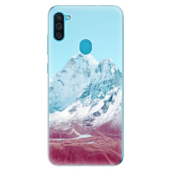 Odolné silikonové pouzdro iSaprio - Highest Mountains 01 - Samsung Galaxy M11