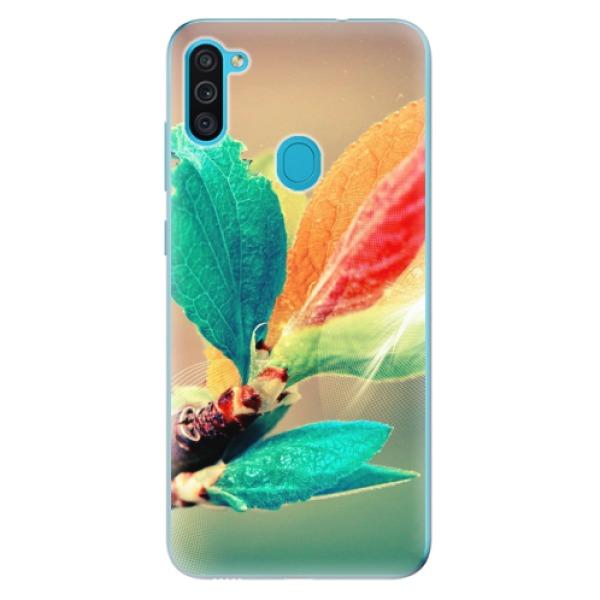 Odolné silikonové pouzdro iSaprio - Autumn 02 - Samsung Galaxy M11