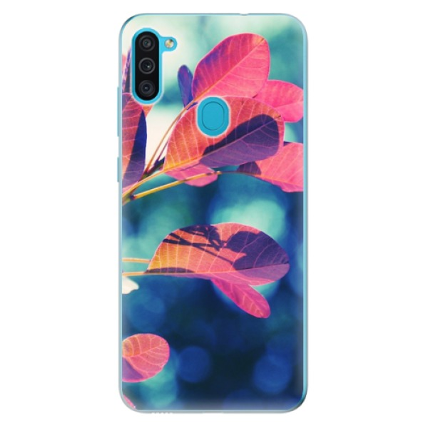 Odolné silikonové pouzdro iSaprio - Autumn 01 - Samsung Galaxy M11