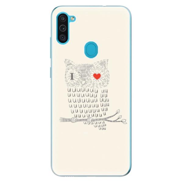 Odolné silikonové pouzdro iSaprio - I Love You 01 - Samsung Galaxy M11