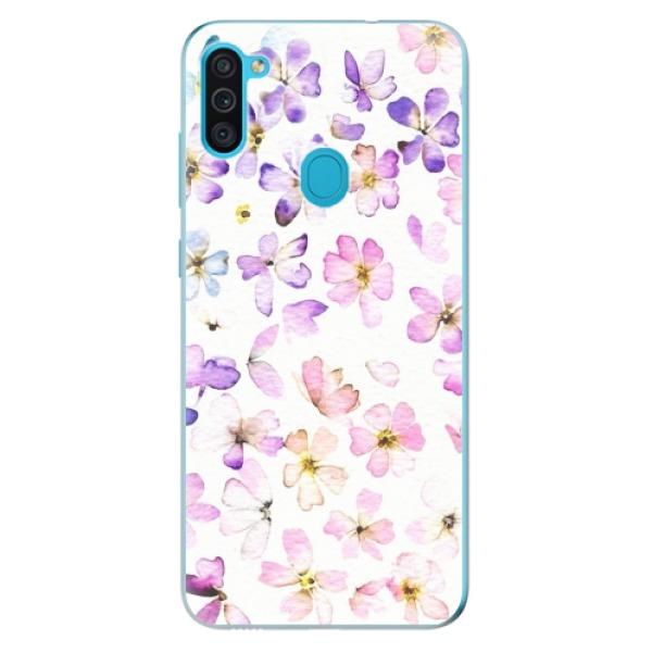 Odolné silikonové pouzdro iSaprio - Wildflowers - Samsung Galaxy M11