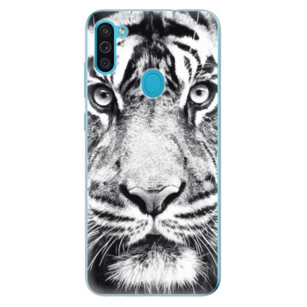 Odolné silikonové pouzdro iSaprio - Tiger Face - Samsung Galaxy M11