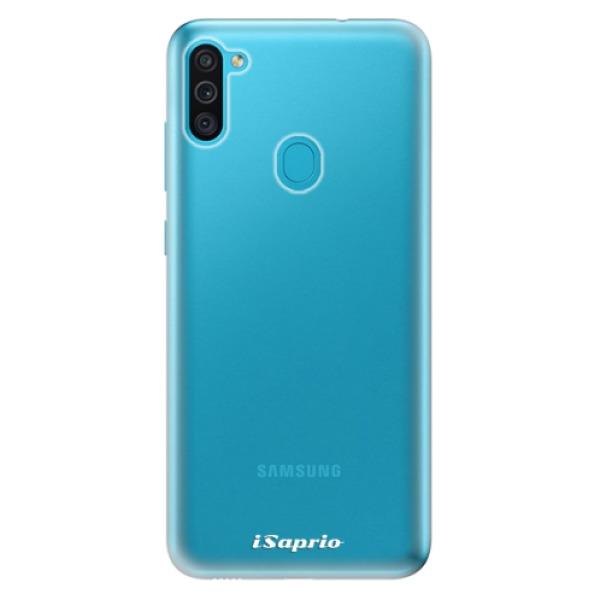 Odolné silikonové pouzdro iSaprio - 4Pure - mléčný bez potisku - Samsung Galaxy M11
