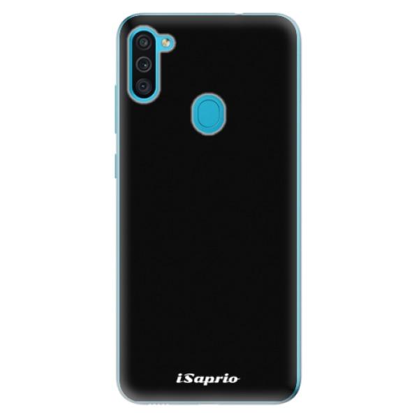 Odolné silikonové pouzdro iSaprio - 4Pure - černý - Samsung Galaxy M11