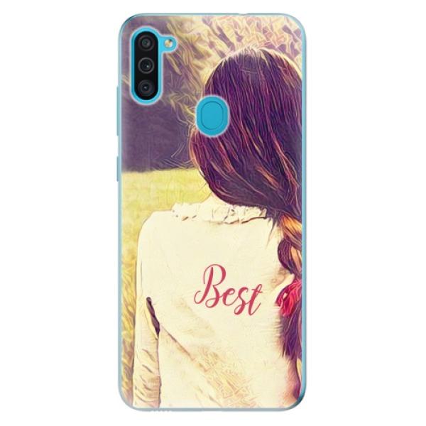 Odolné silikonové pouzdro iSaprio - BF Best - Samsung Galaxy M11
