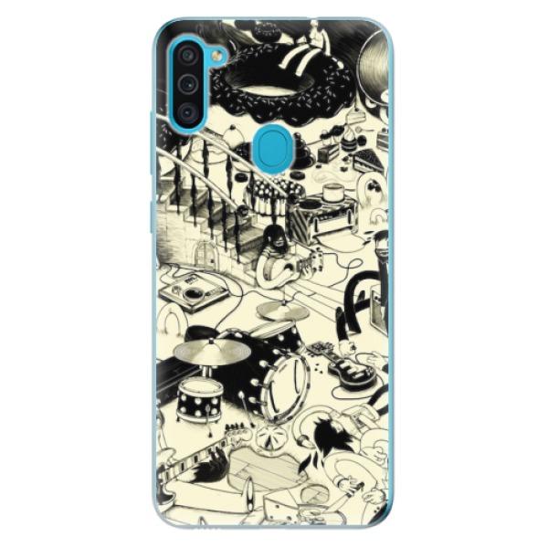 Odolné silikonové pouzdro iSaprio - Underground - Samsung Galaxy M11