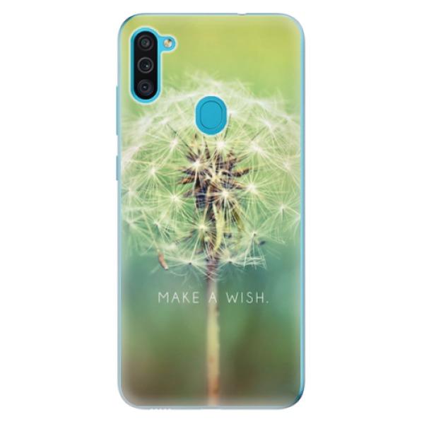 Odolné silikonové pouzdro iSaprio - Wish - Samsung Galaxy M11