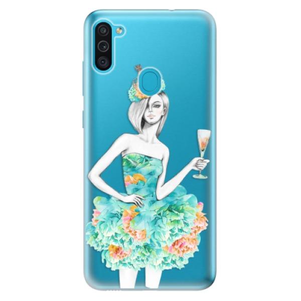 Odolné silikonové pouzdro iSaprio - Queen of Parties - Samsung Galaxy M11